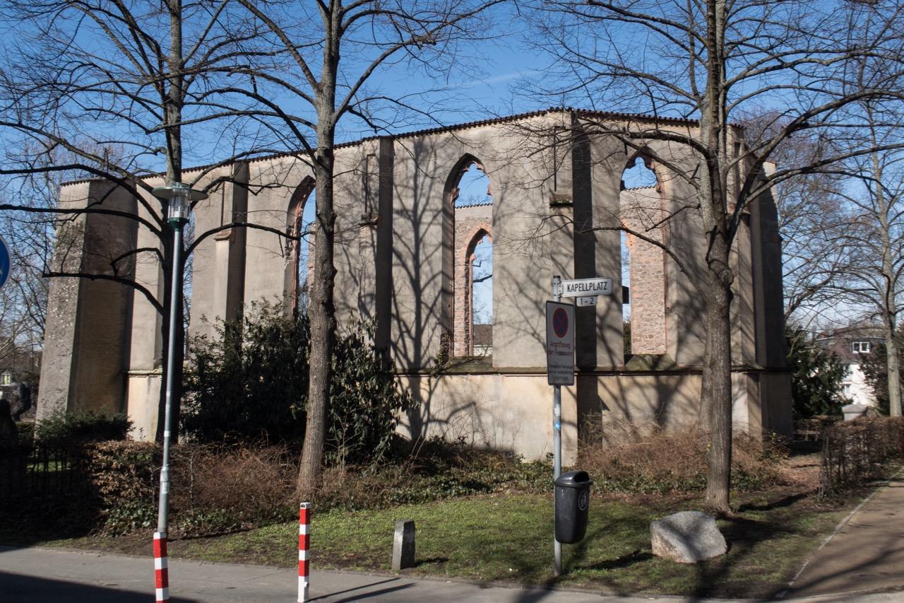 Ehem. Stadtkapelle, Außenansicht