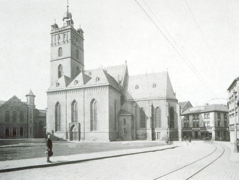 Außenansicht von Süden im Jahr 1899