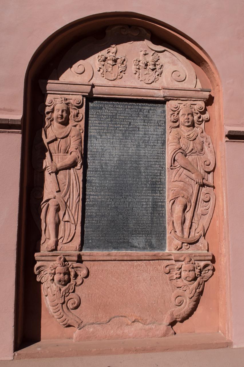 Grabmal des Antonius Wolff von Todenwarth († 1641)