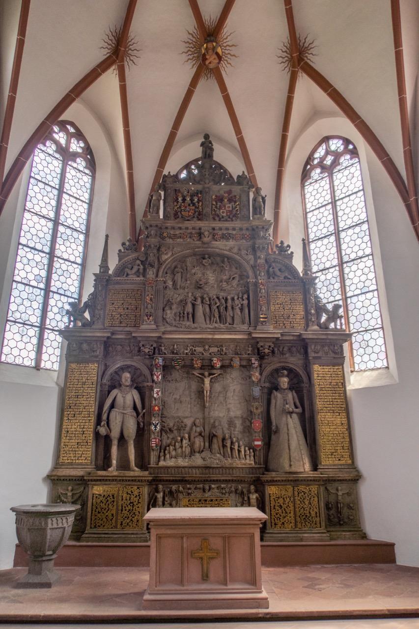 Epitaph für Magdalena von Lippe (1589)