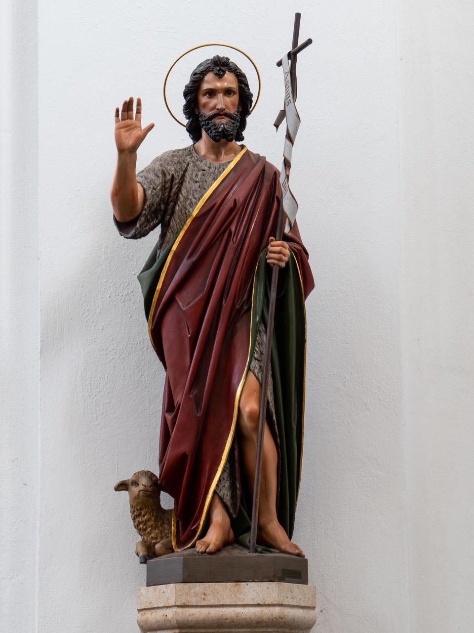 Statue Johannes' des Täufers