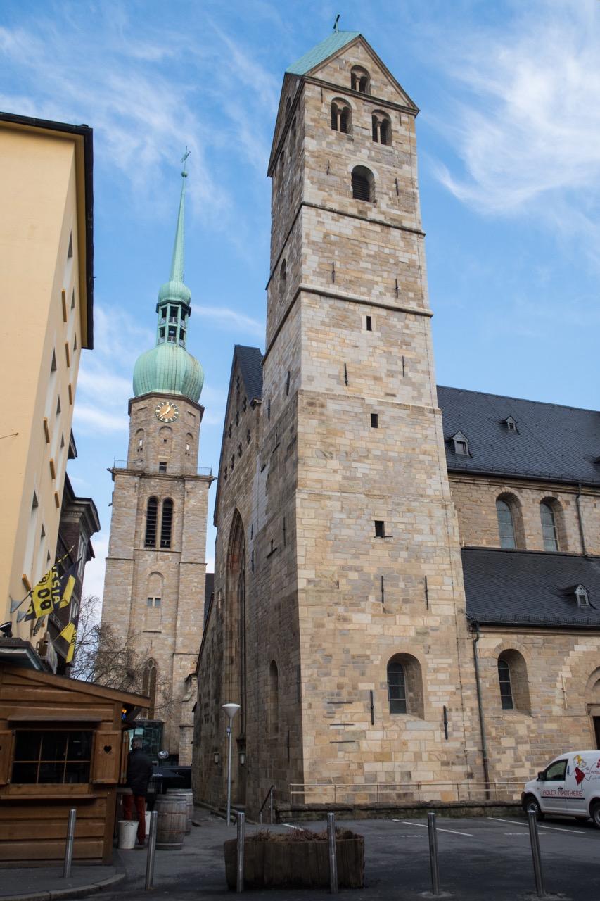 Türme St. Marien und St. Reinoldi
