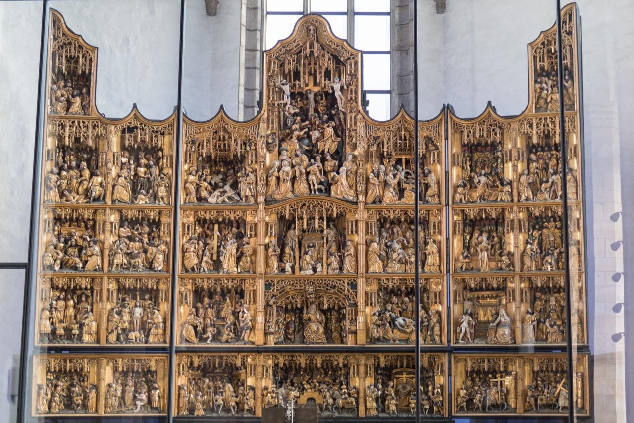 Flandrischer Altaraufsatz (1521)