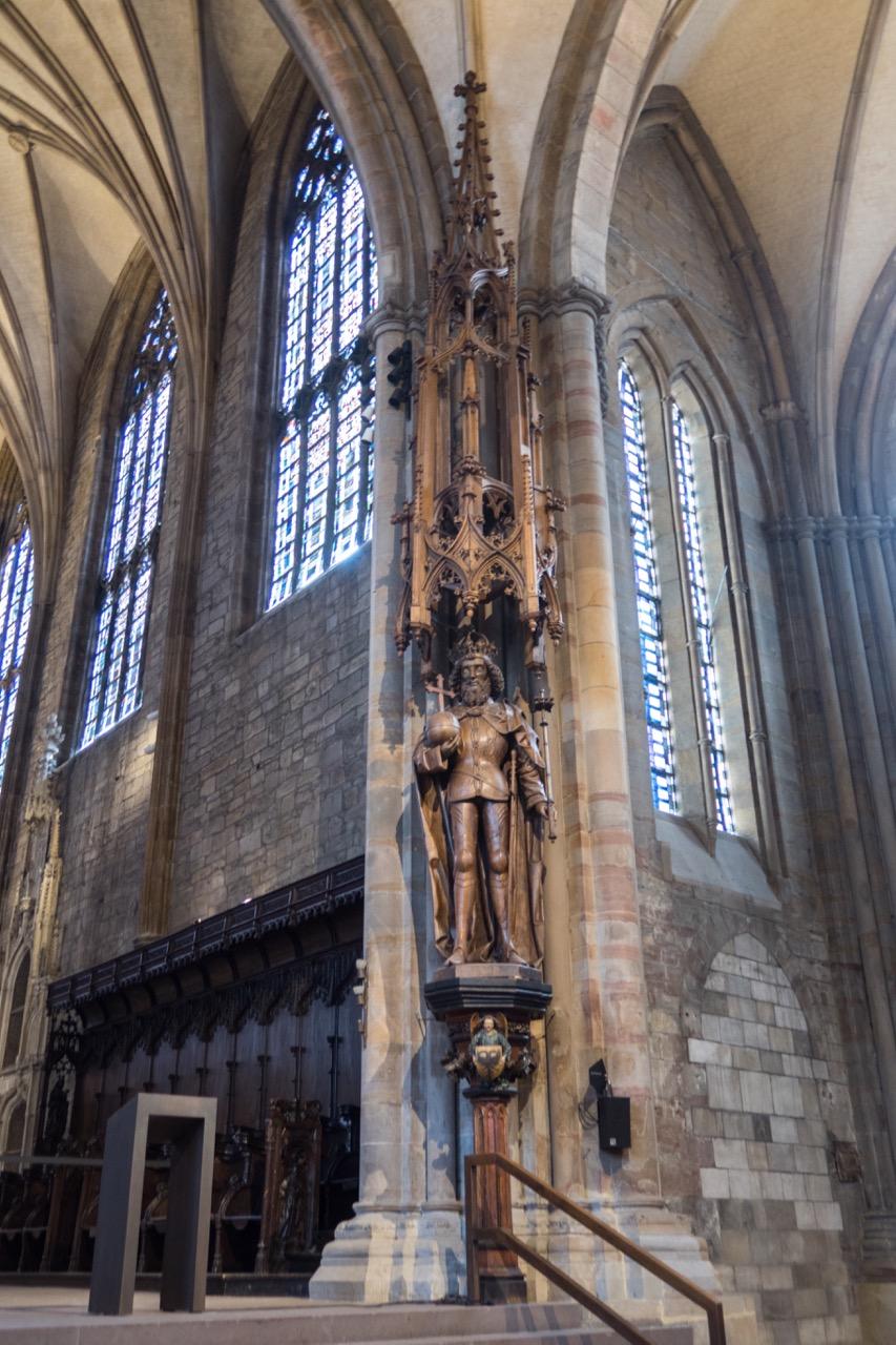 Skulptur Karls des Großen, Mitte des 15. Jahrhunderts