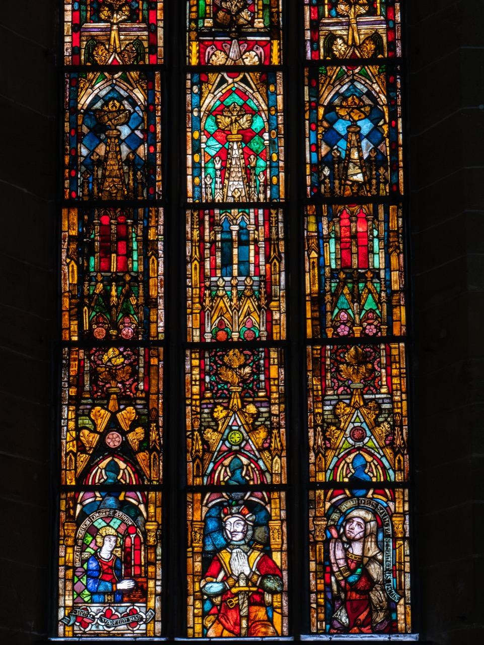 Chorfenster, Detail