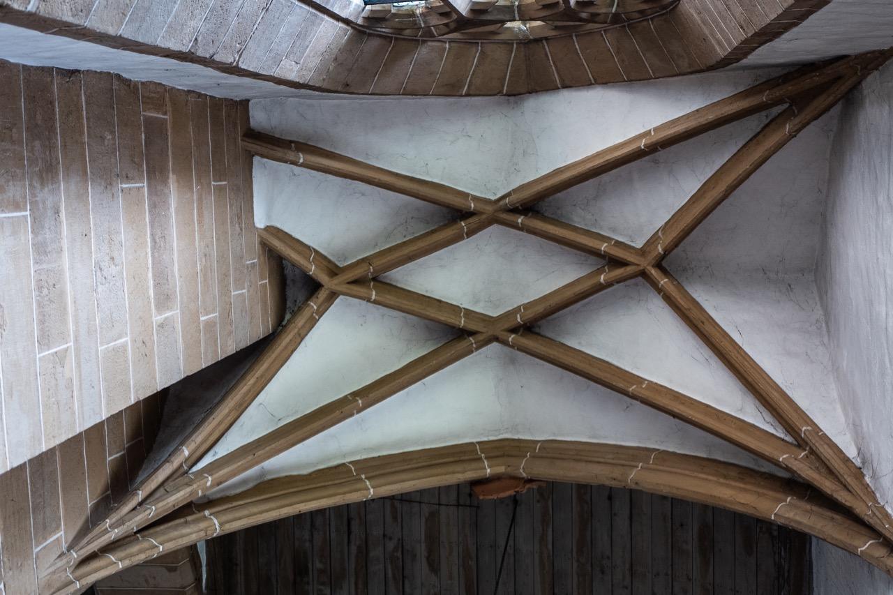 Gewölbe über der Taufkapelle