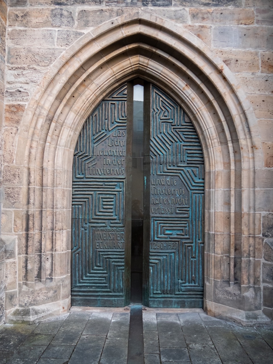 Nordportal zur Erinnerung an Meister Eckhart