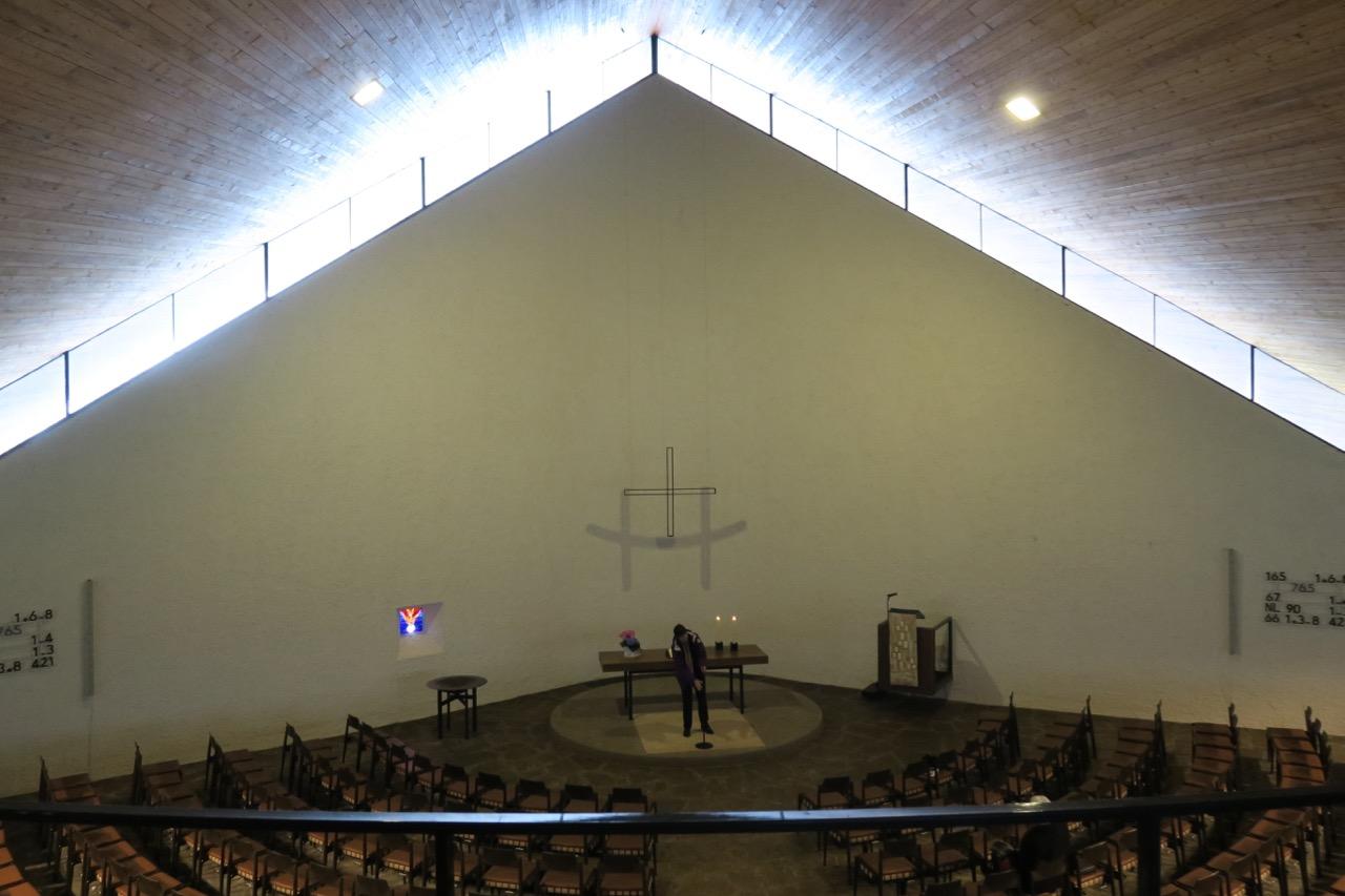 Innenansicht von der Orgelempore