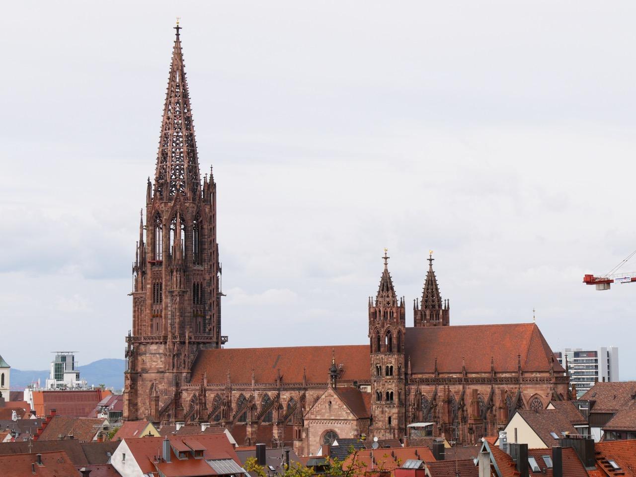 Südansicht vom Schlossberg aus