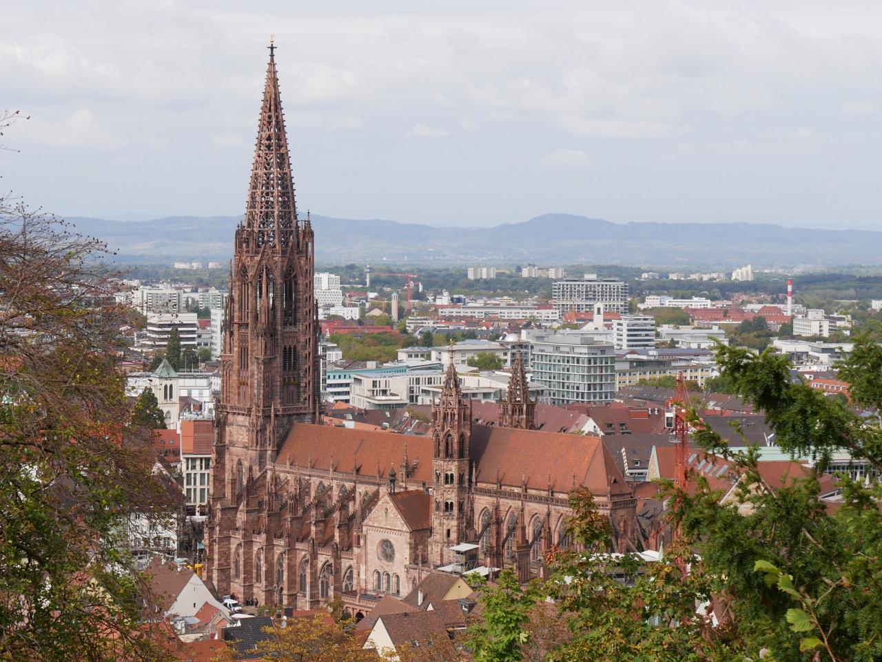 Südostansicht vom Schlossberg aus