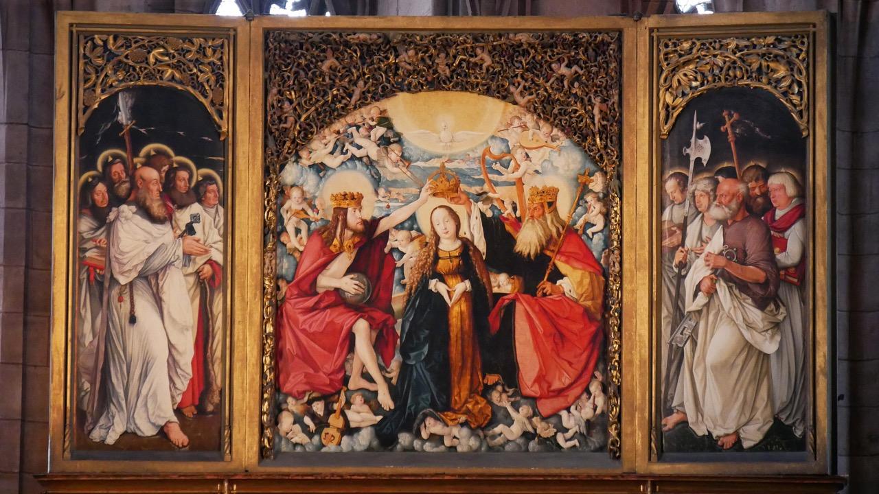 Hochaltar von Hans Baldung Grien (1512–16)