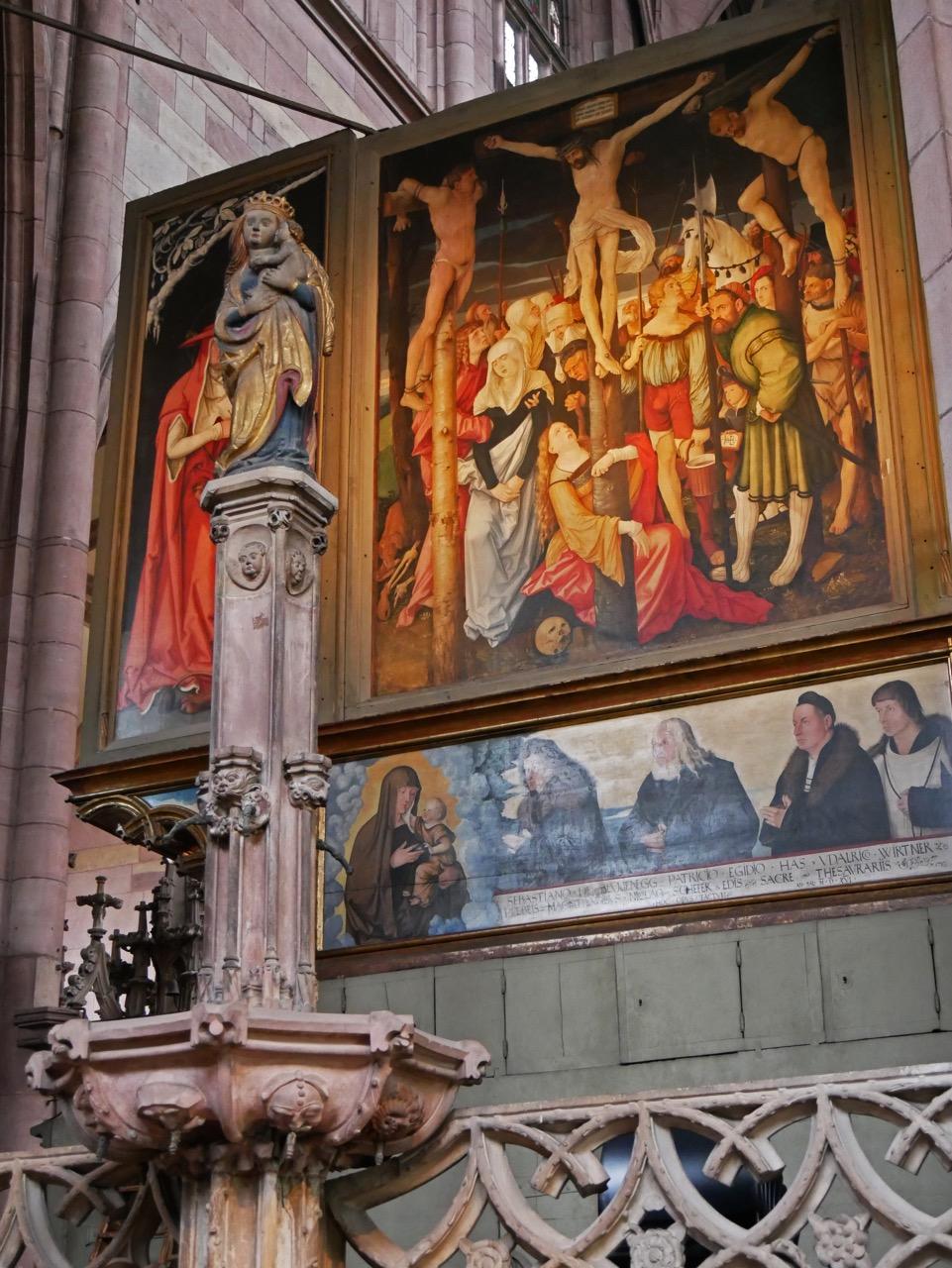 Hochaltar von Hans Baldung Grien (1512–16), Rückseite