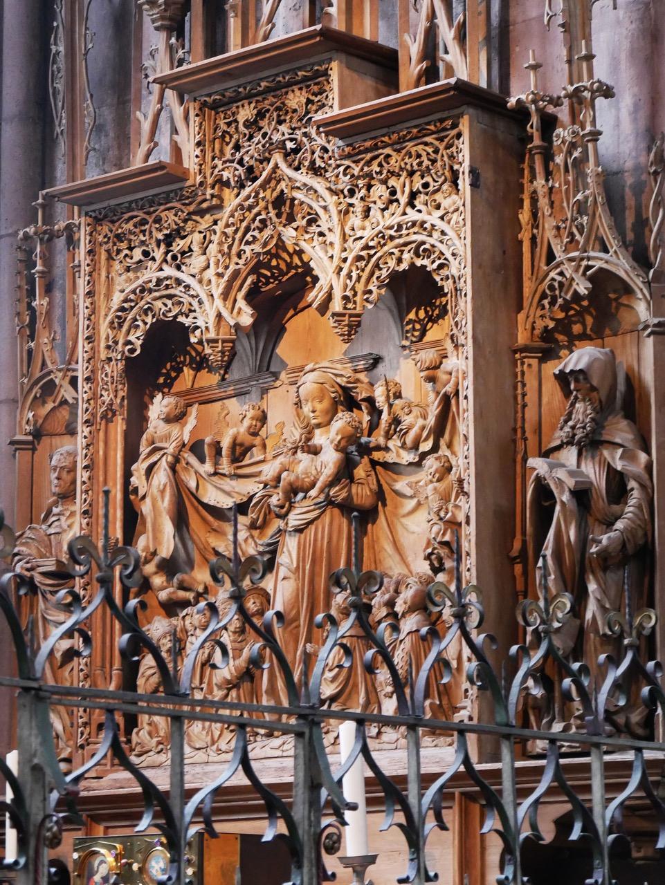 Schutzmantelaltar in der Lochererkapelle (Sixt von Staufen, 1521–24)