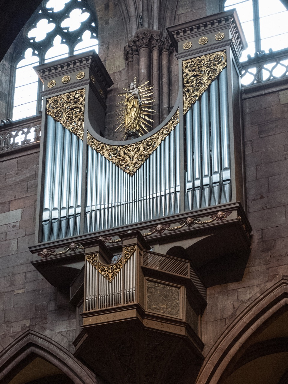 Schwalbennestorgel (1965, Rekonstruktion einer Renaissance-Orgel)