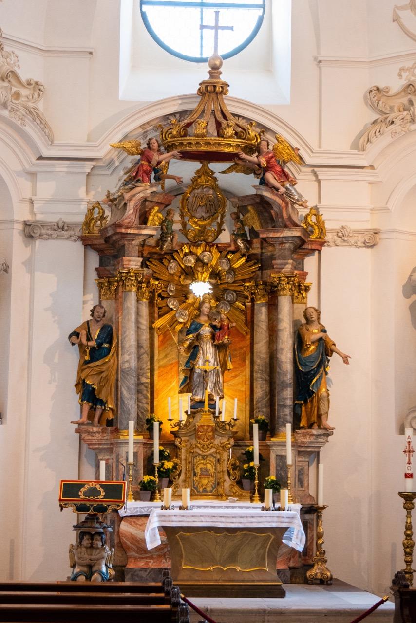 Altar in der Marienkapelle (1758)