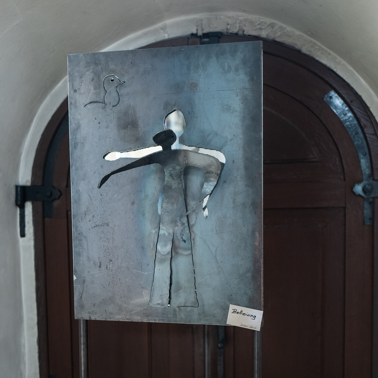 """Skulptur """"Befreiung"""", Herbert Häbich"""