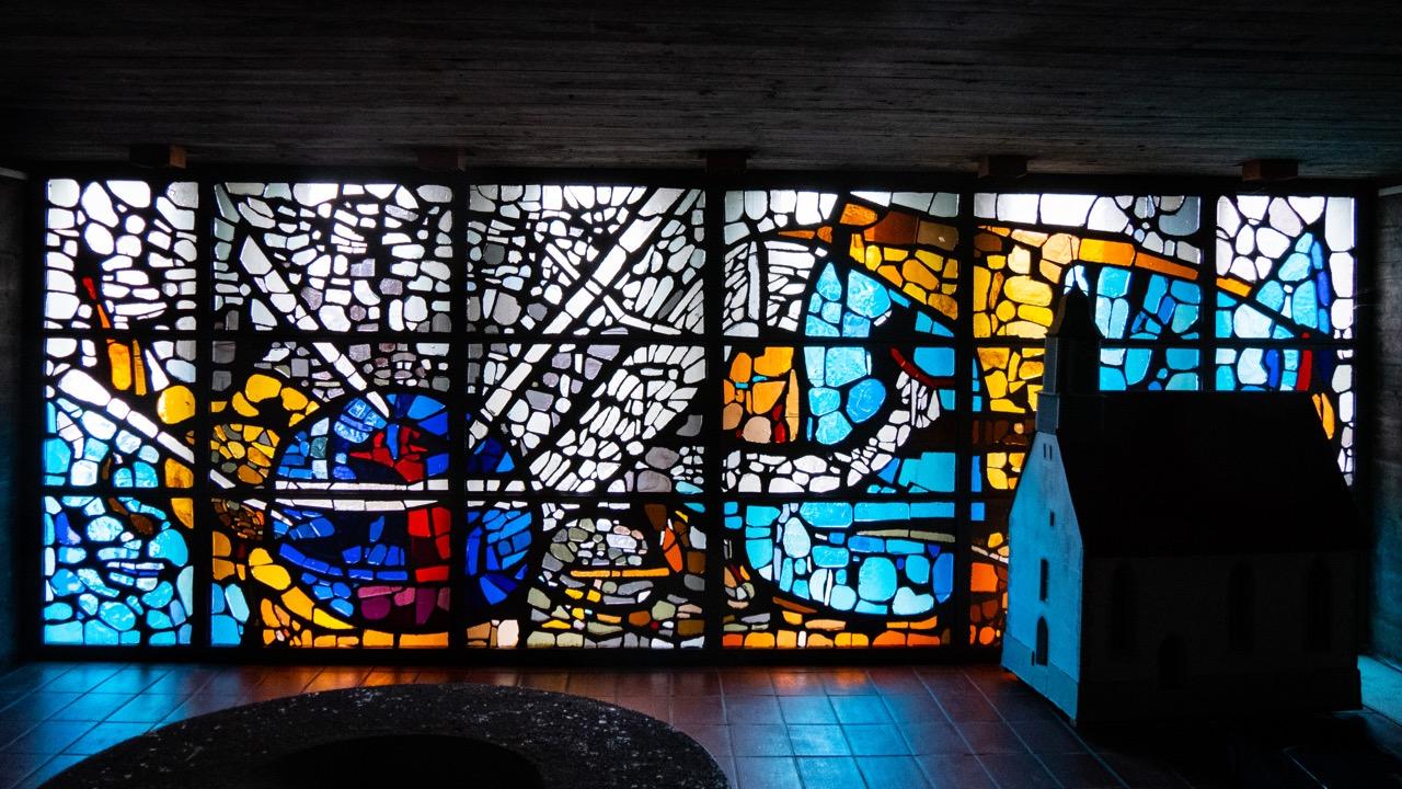 Betonglasfenster (Sigrid von Liebenstein)