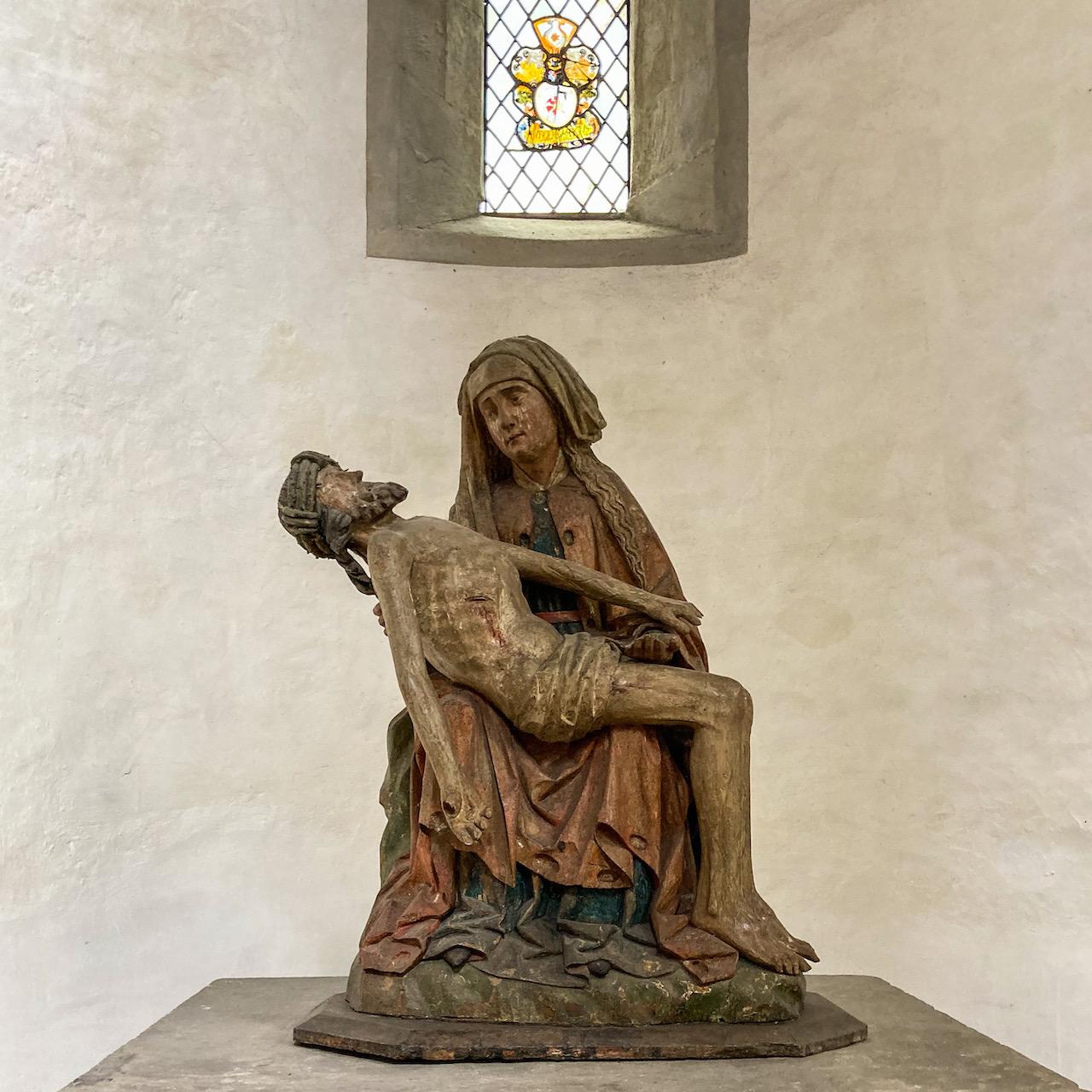 Pietà aus der 2. Hälfte des 15. Jh.