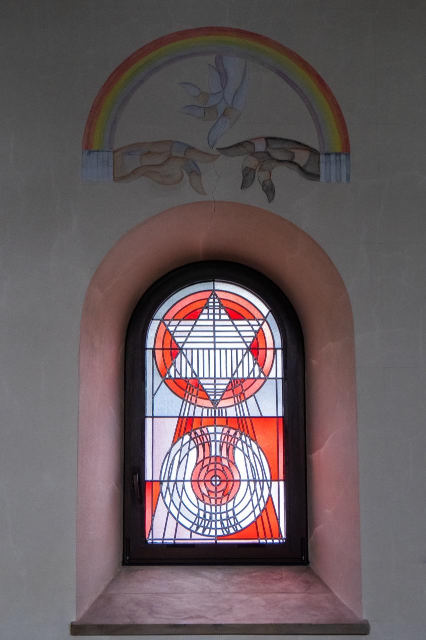 Fenster mit Davidstern (Gerhard Dreher, 1977)