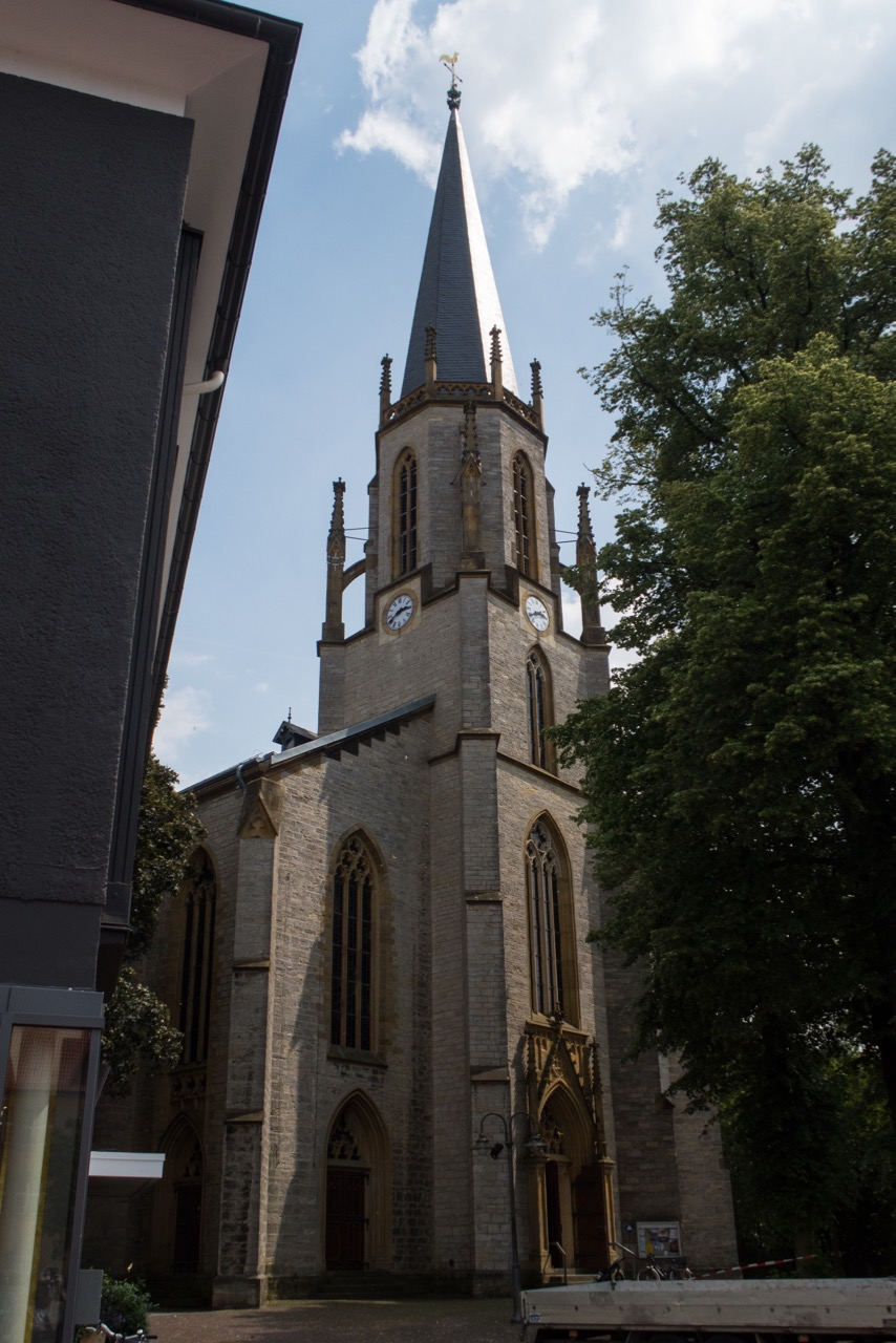 Martin-Luther-Kirche, Gütersloh ::: Visit a Church