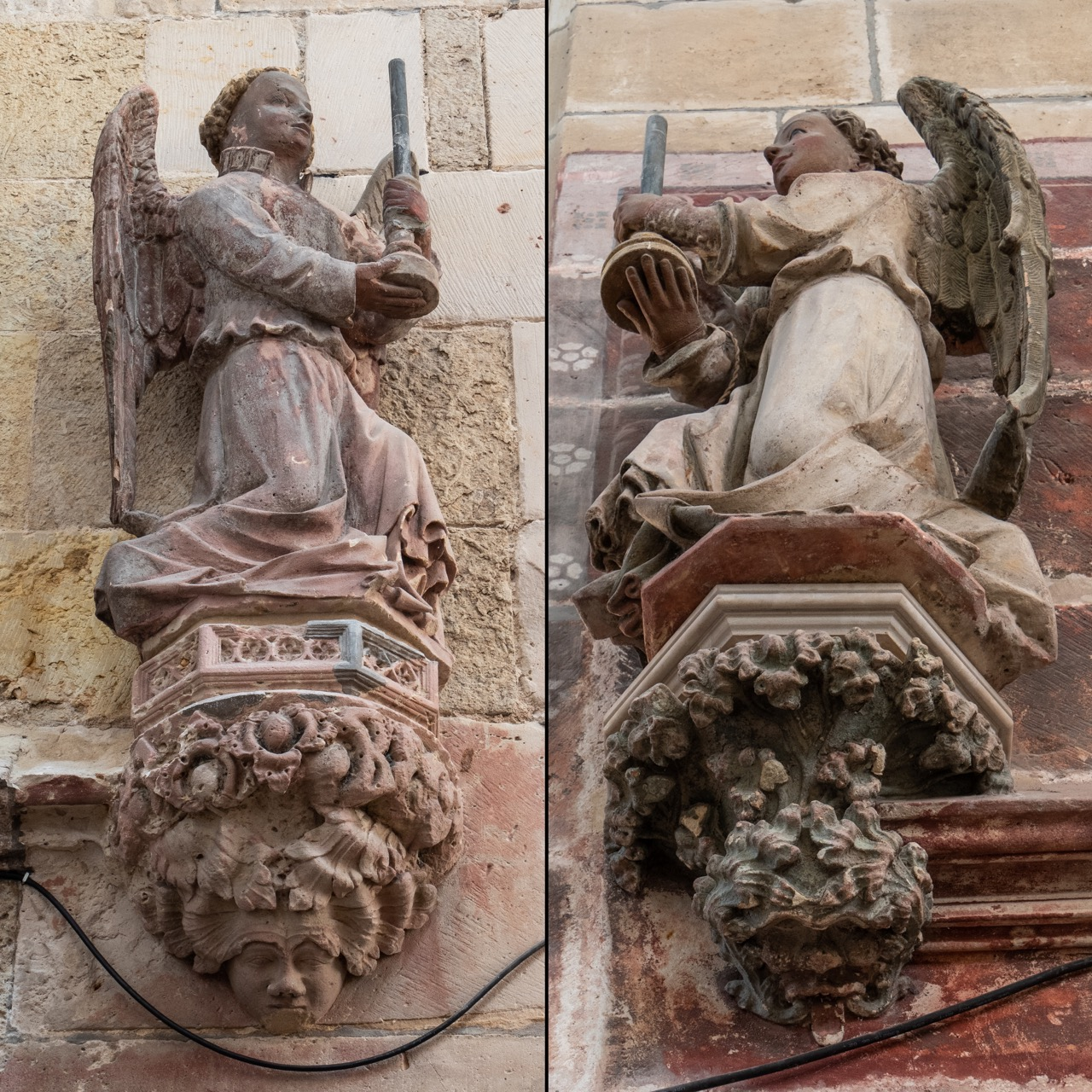 Figuren am Durchgang zur Scheitelkapelle