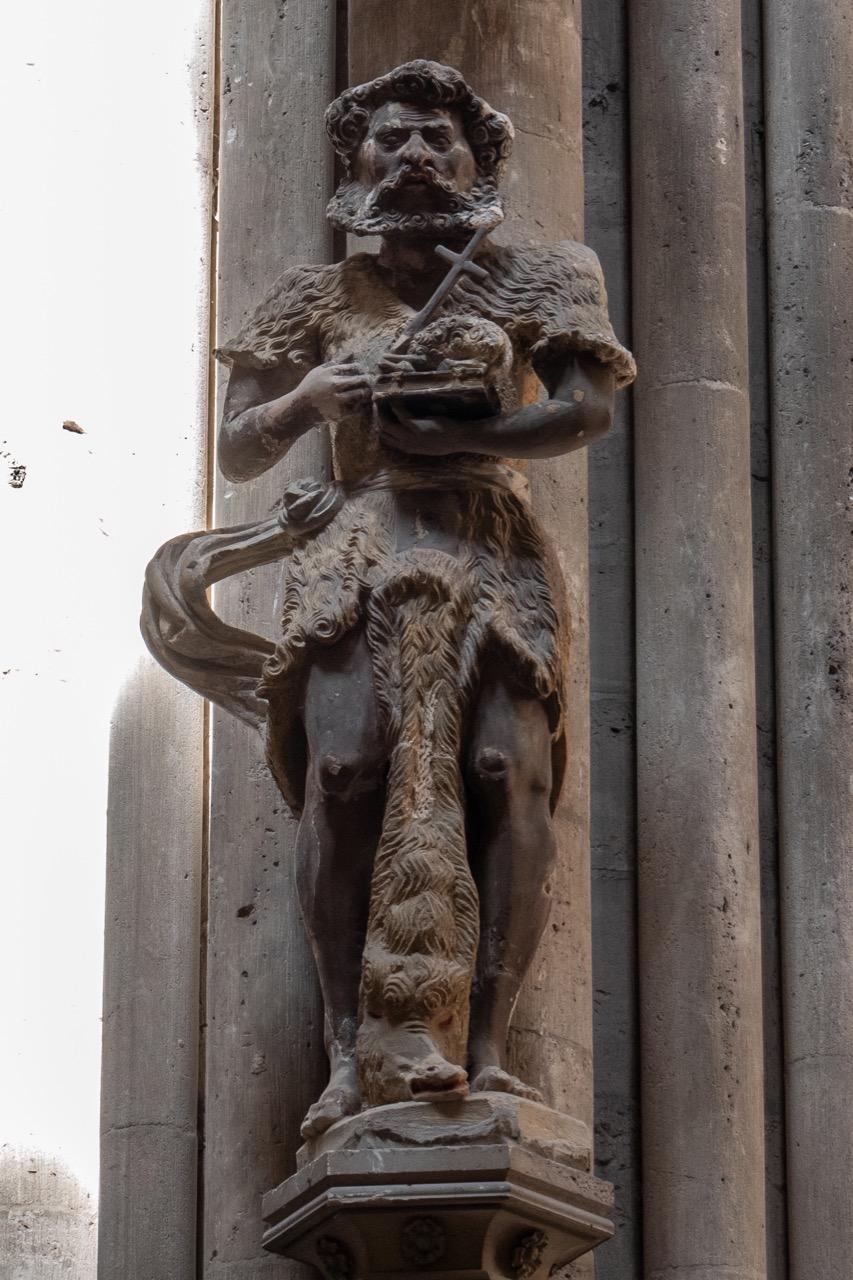 Statue Johannes, der Täufer