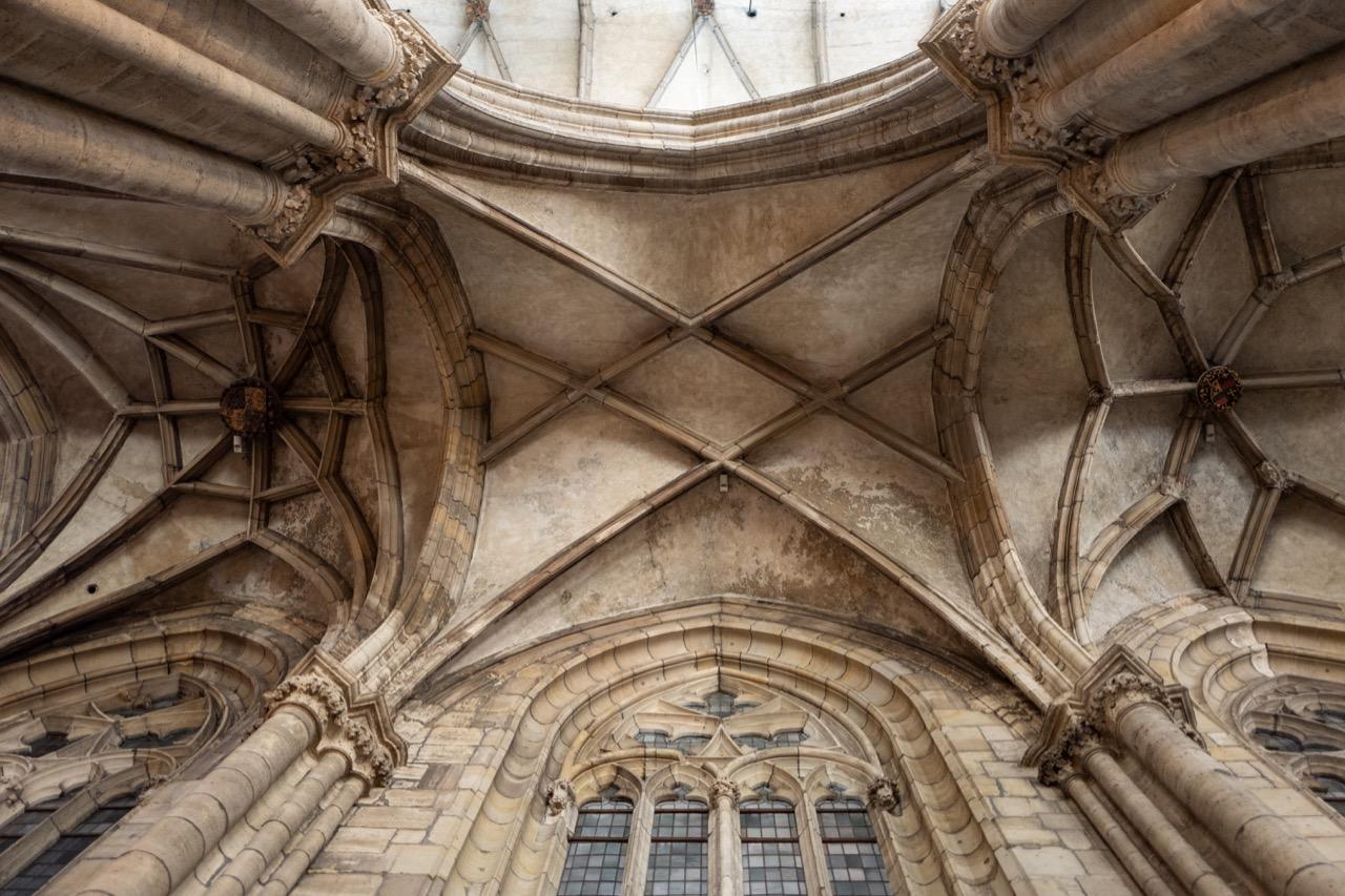 Gewölbe Seitenschiff