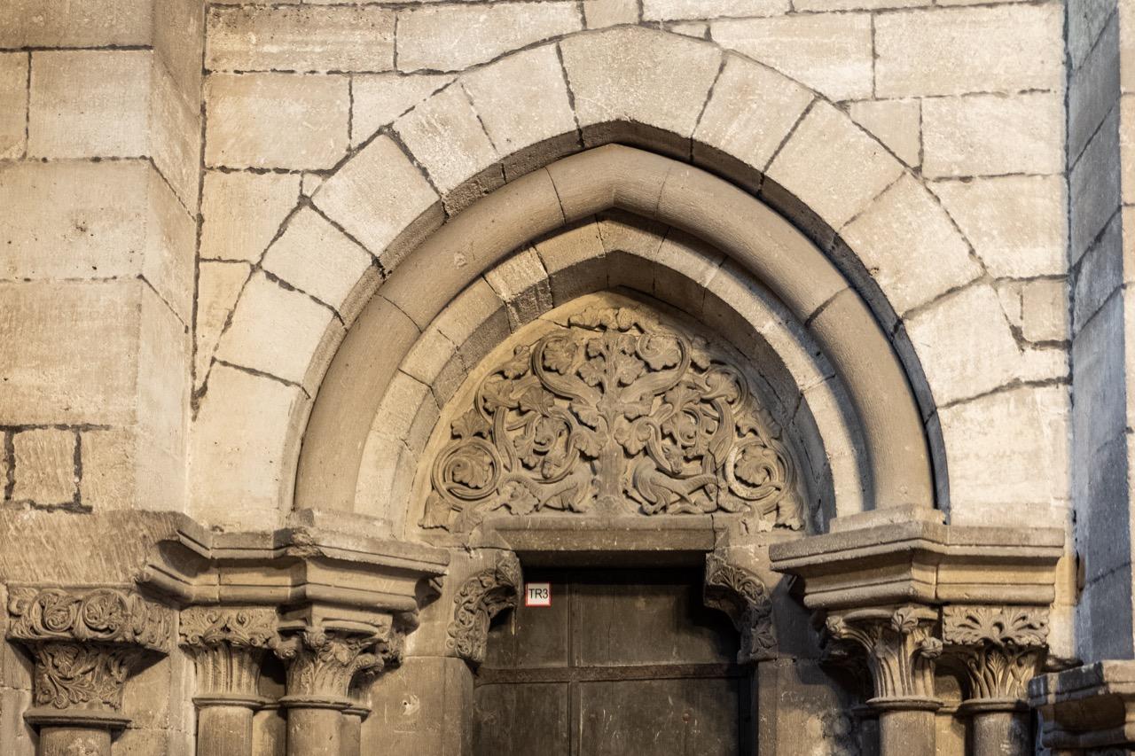 Tympanon Westportal