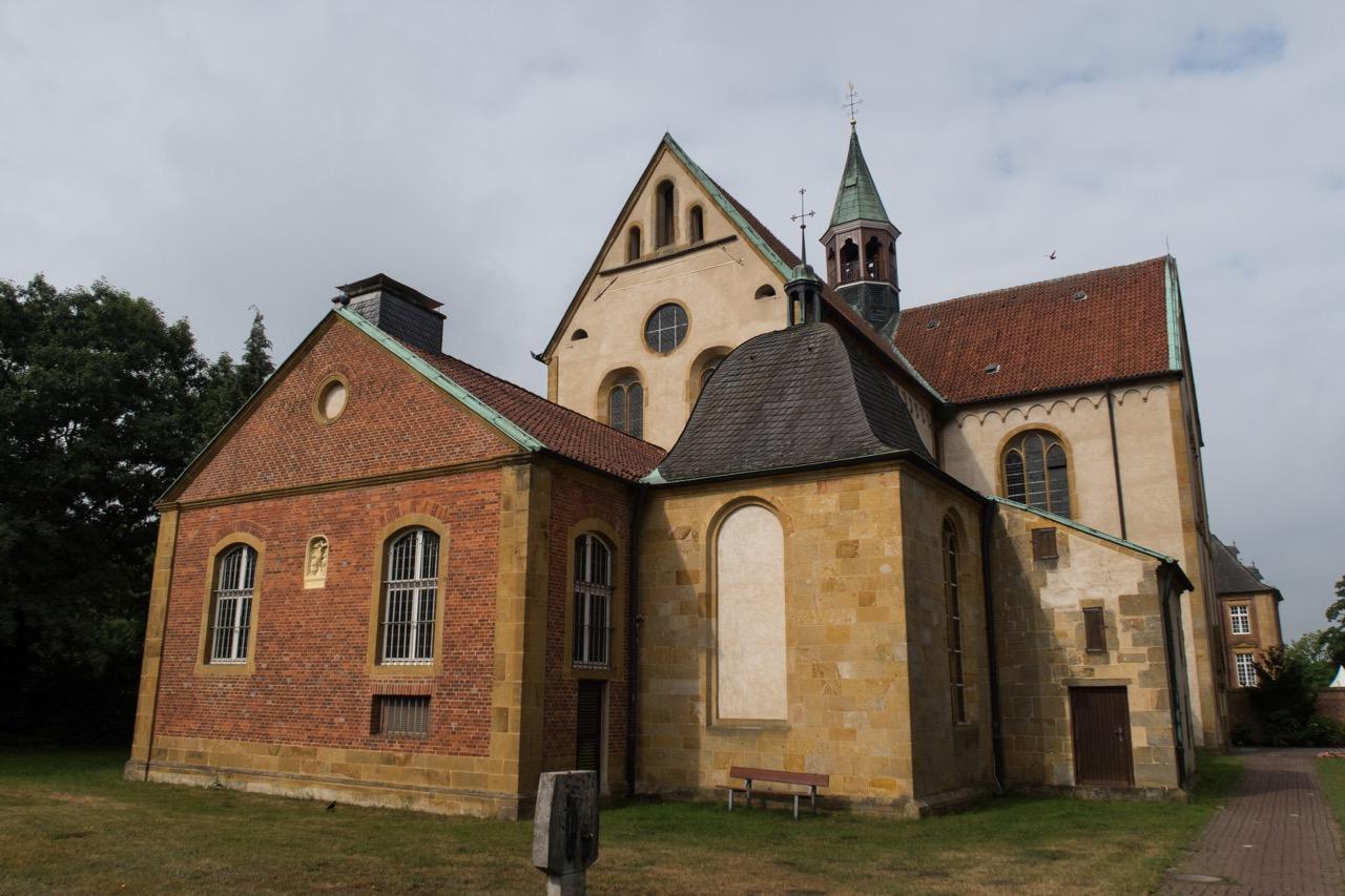Ansicht von Osten, Chor