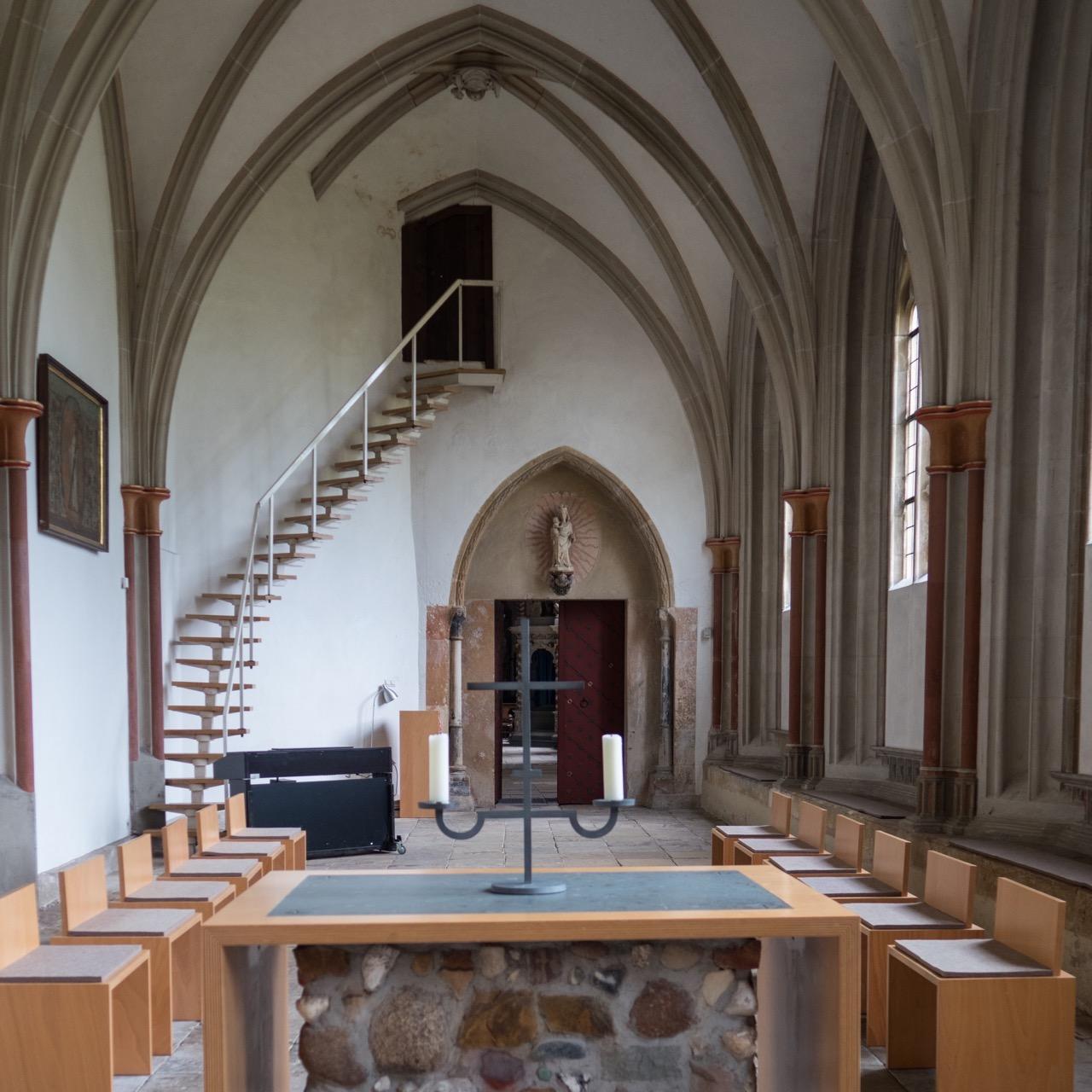 Kapelle im Kreuzgang, Rückansicht