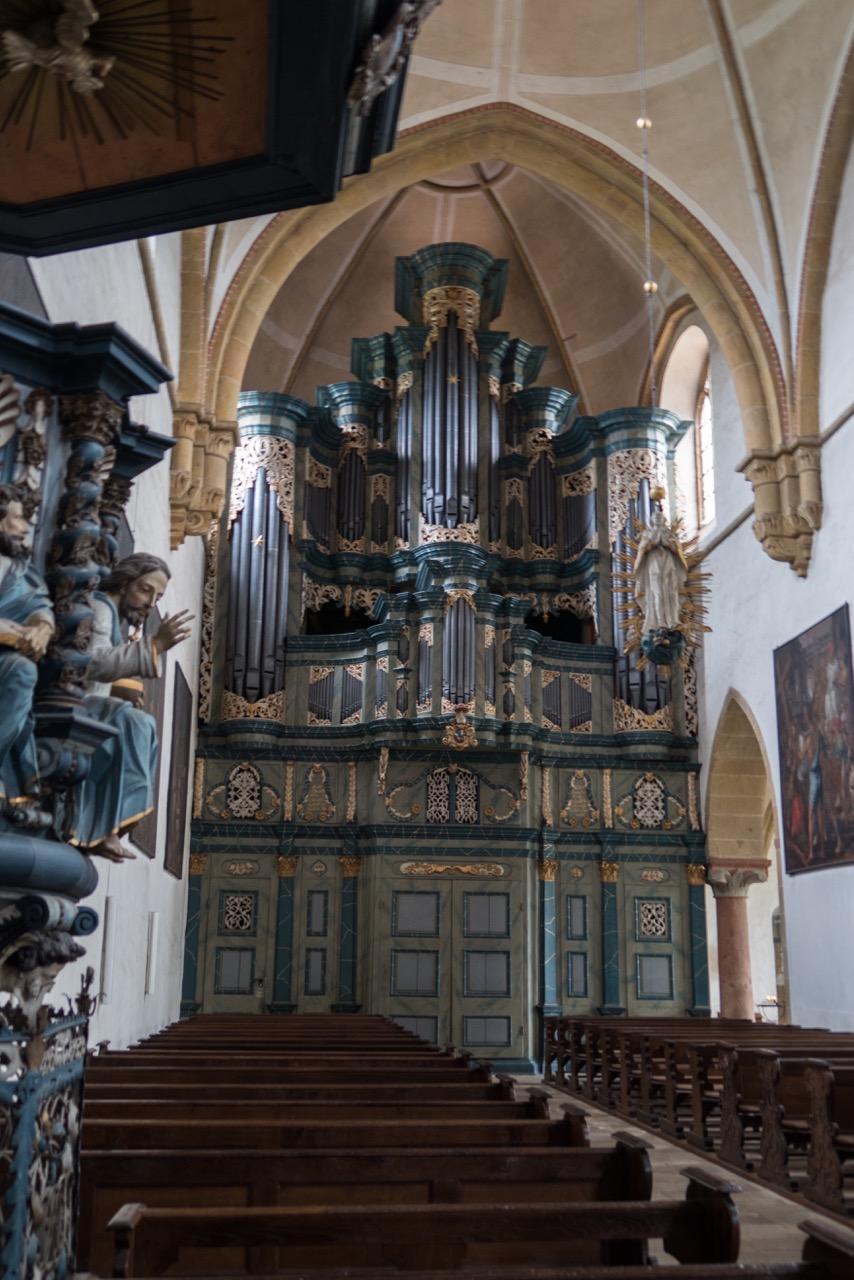 Orgel, 1745-51