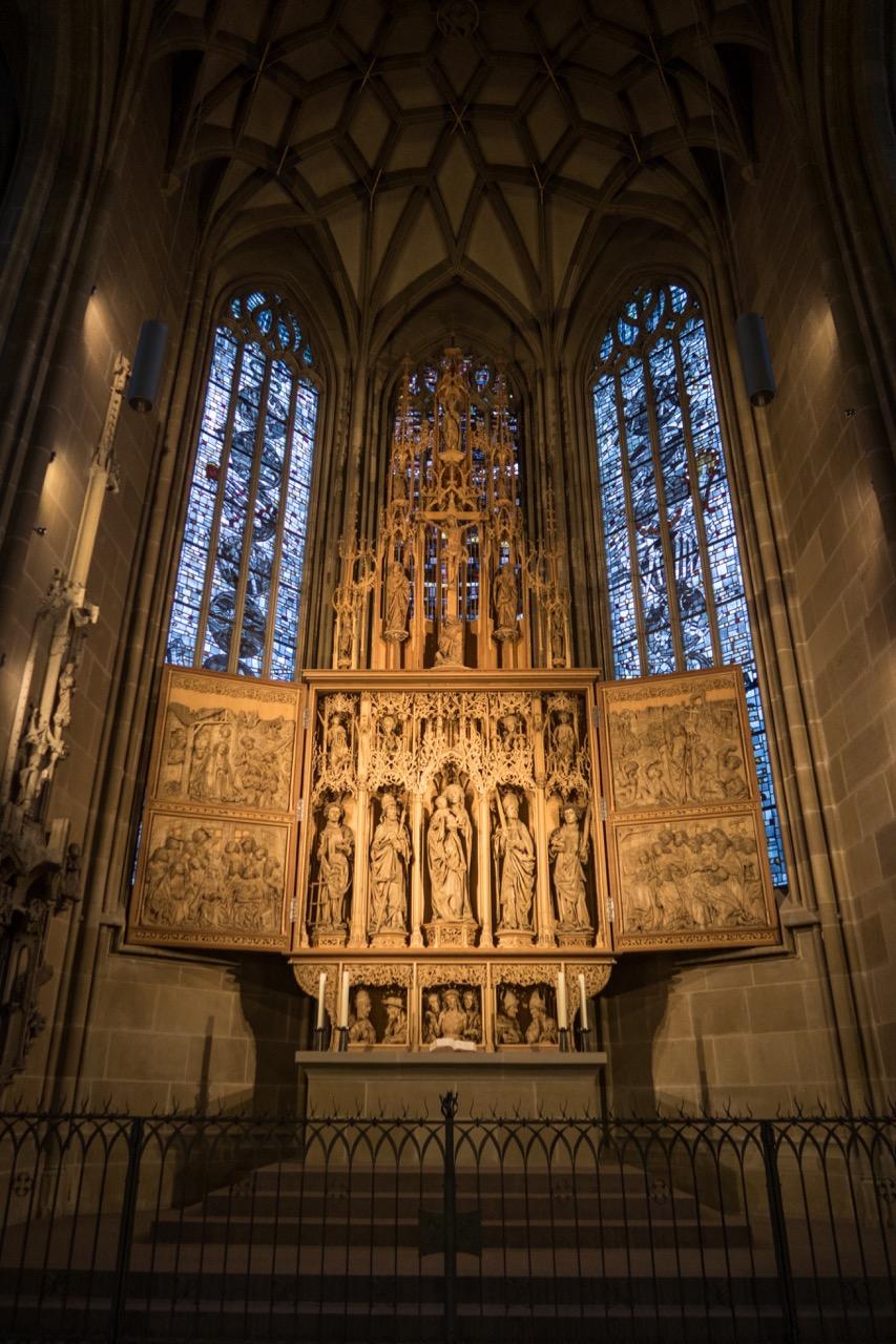 Altar von Hans Seyfer, 1498