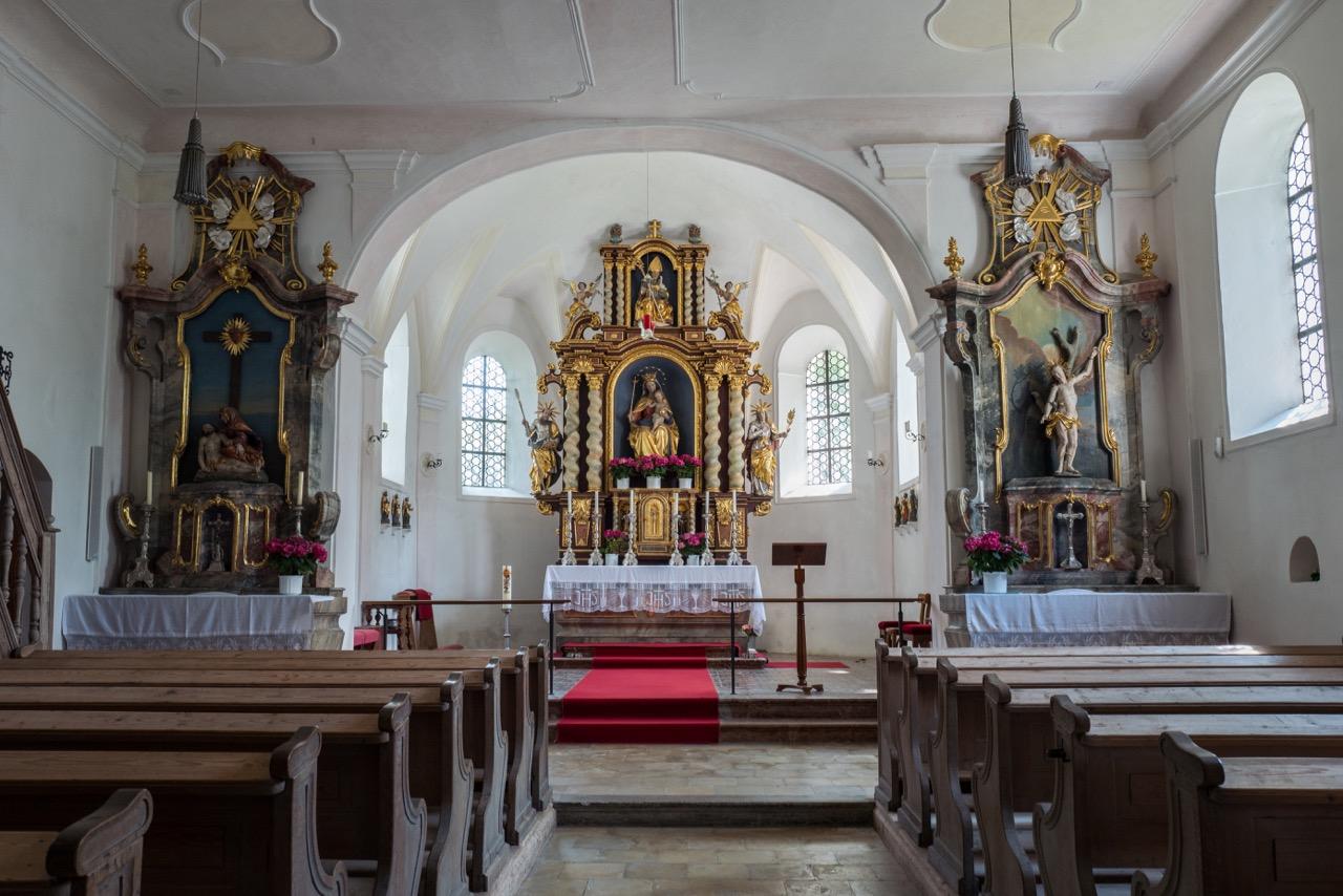St. Martin, Innenansicht