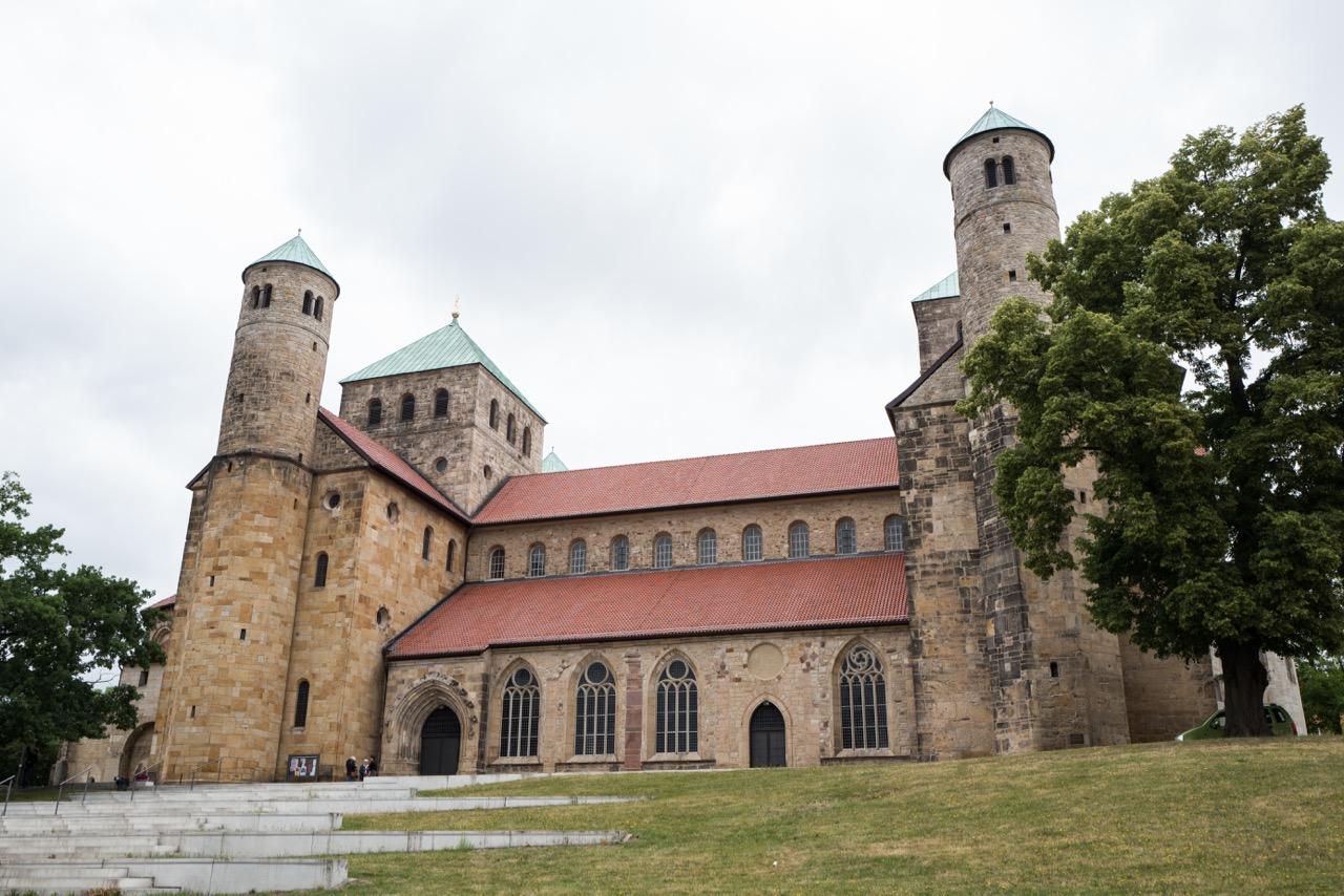 St. Michaelis, Außenansicht von Süden