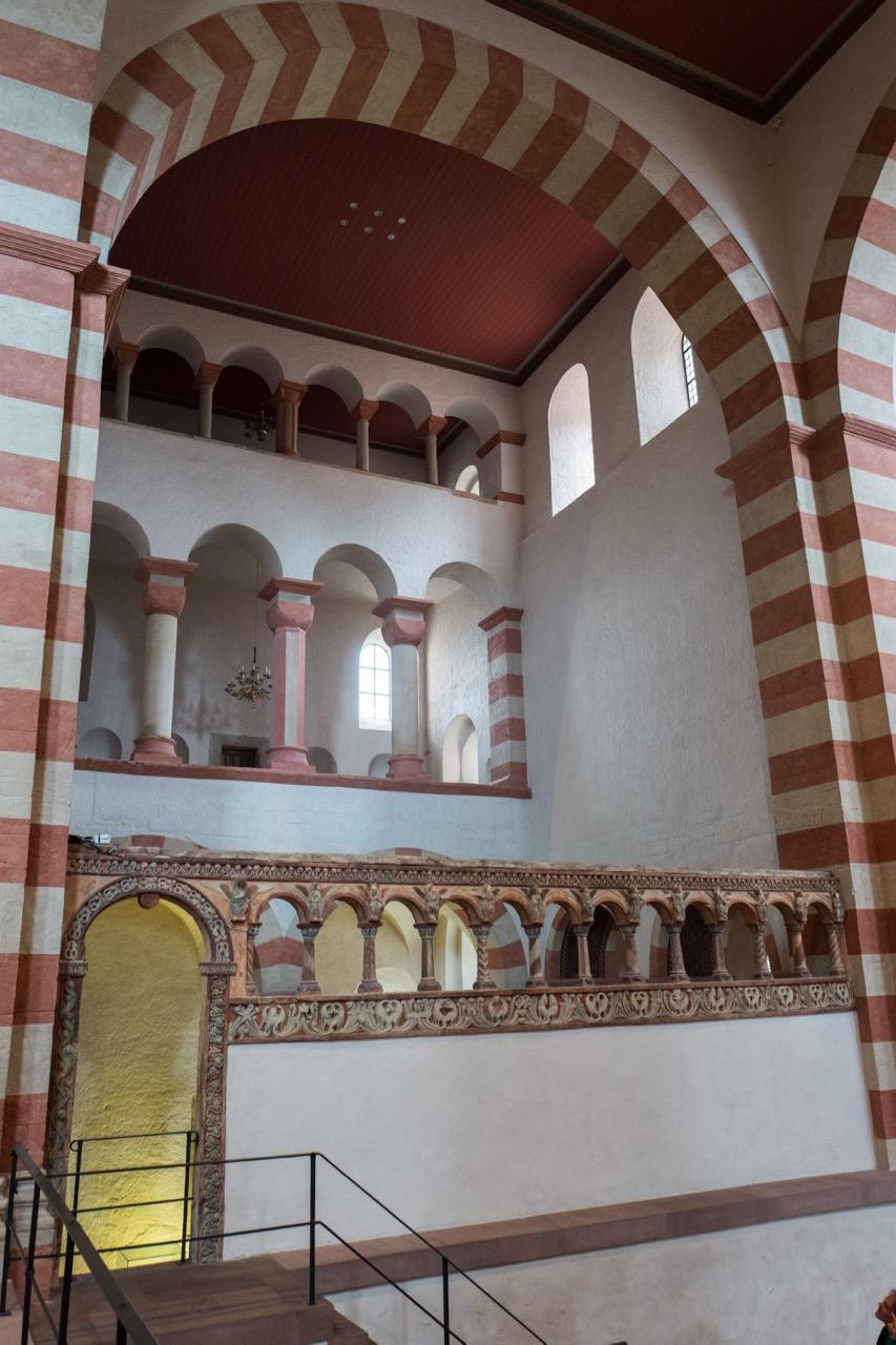 Engelsschranke am nördlichen Westquerhaus (vor 1200)