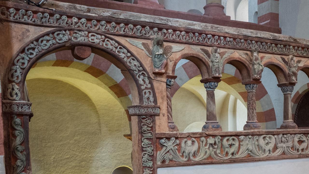 Engelsschranke, Detail (vor 1200)