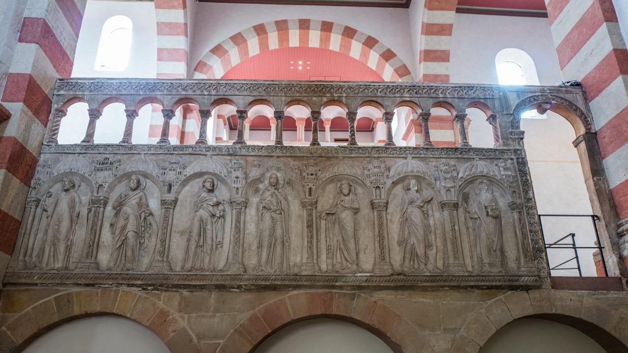 Engelsschranke, Rückseite (vor 1200)