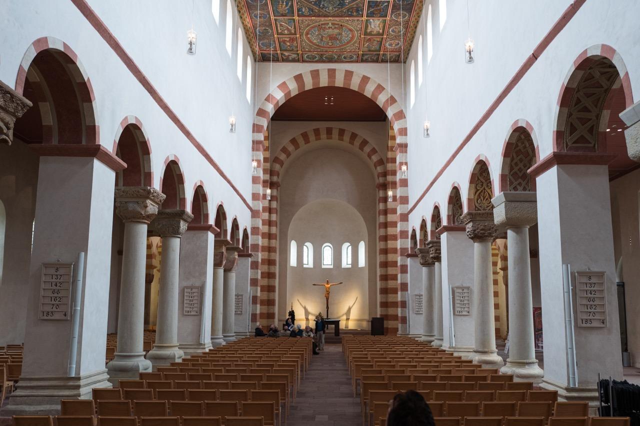 St. Michaelis, Innenansicht