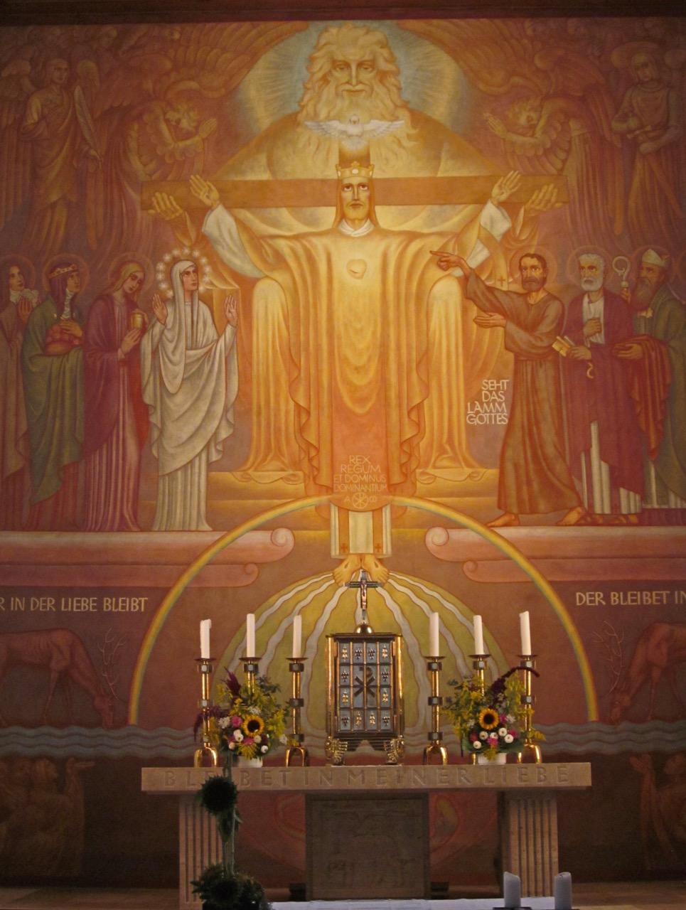 Altarbild von Alfred Gottwald