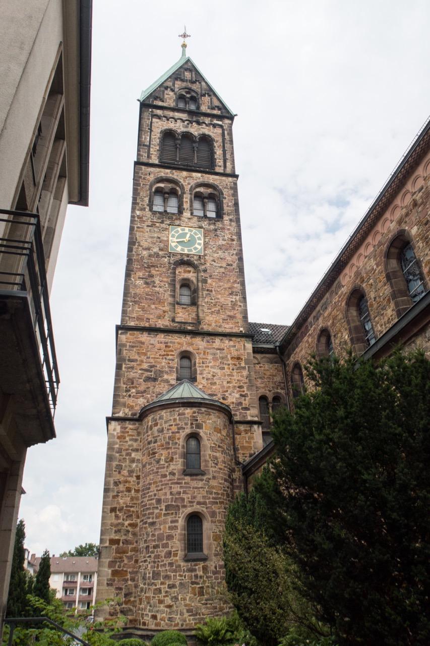 Turm Südansicht