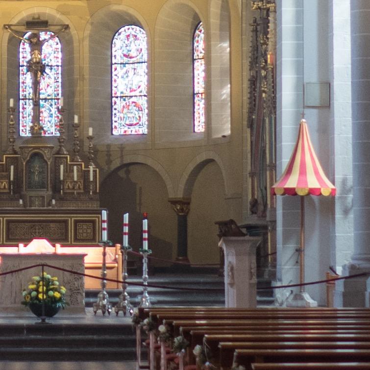 Padiglione als Kennzeichen der Basilica Minor