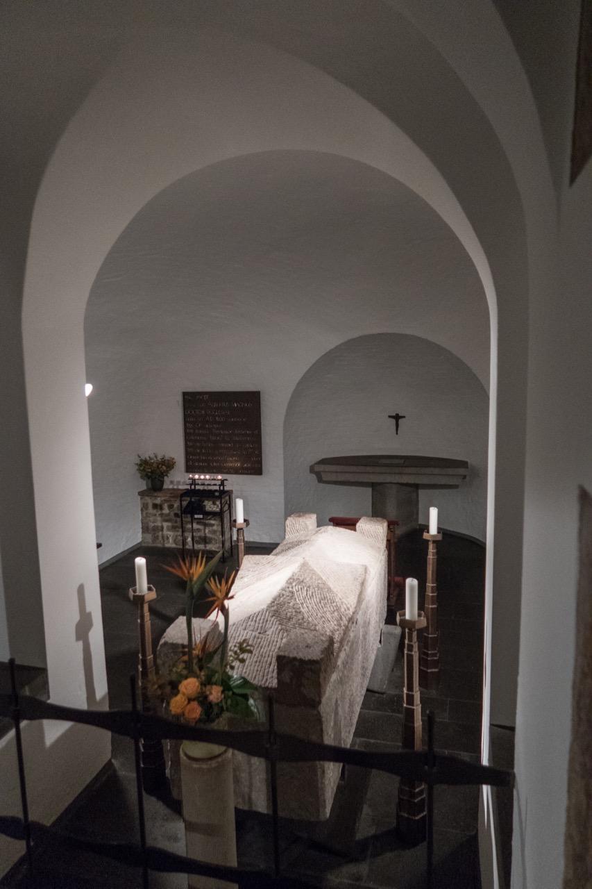 Grabkapelle des Albertus Magnus in der Krypta
