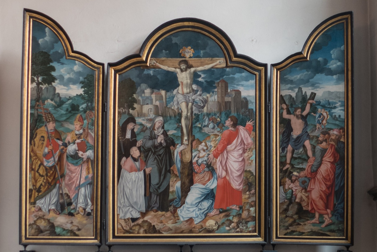 Triptychon (Bartholomäus Bruyn d. Ä., 16. Jh.)