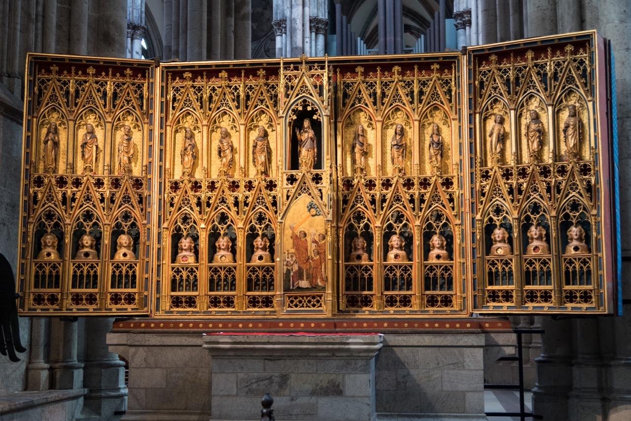 Köln, Dom, Clarenaltar (um 1360)