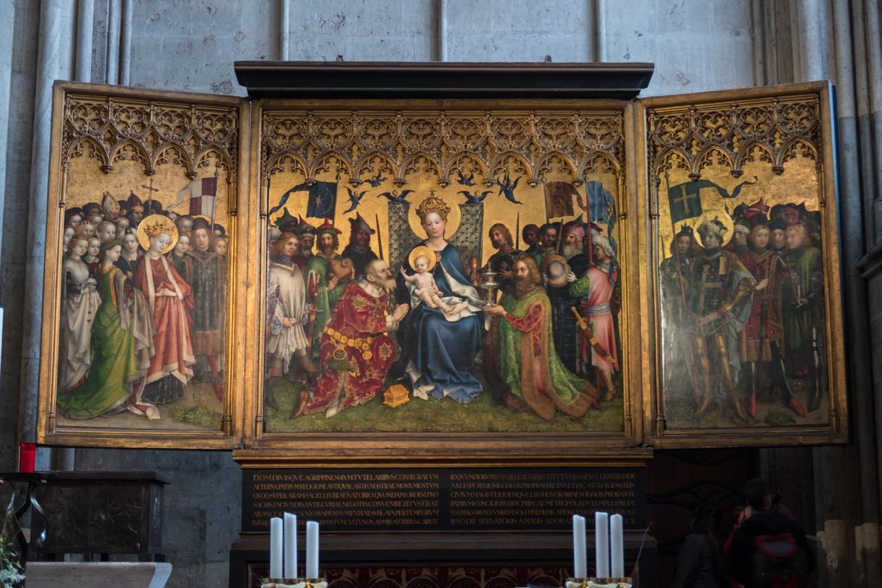 Köln, Dom, Dreikönigsaltar