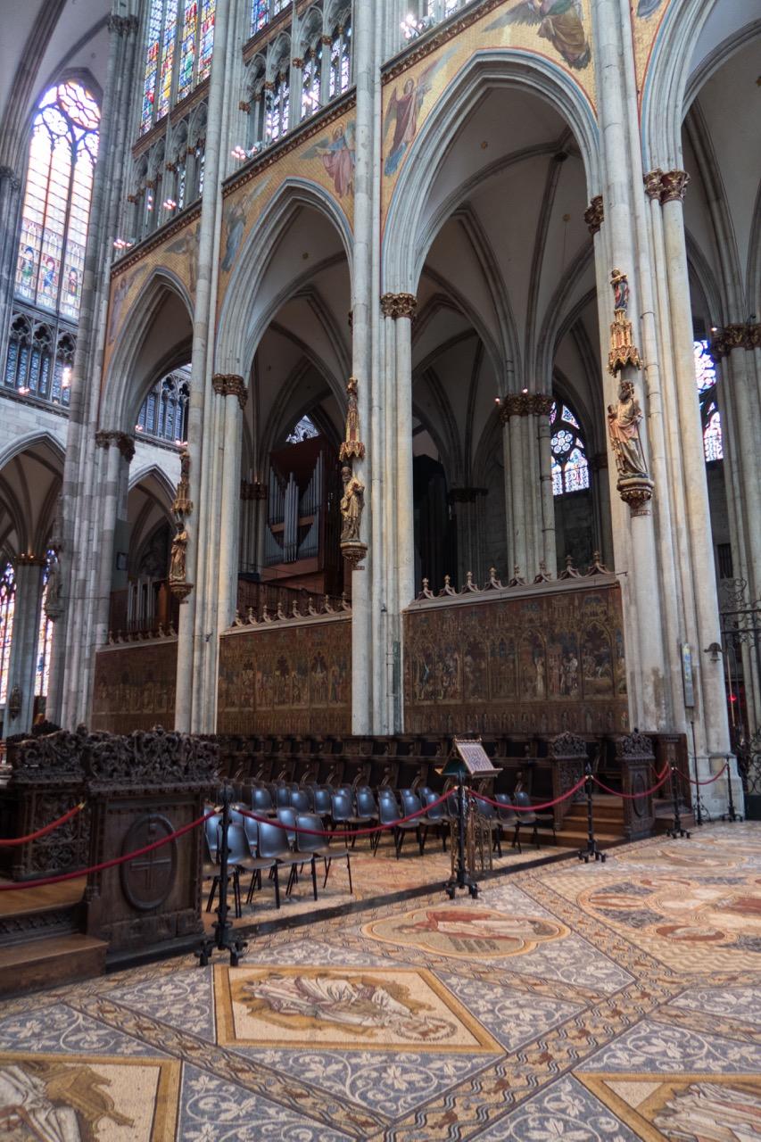 Köln, Dom, Chorgestühl (1308-11)