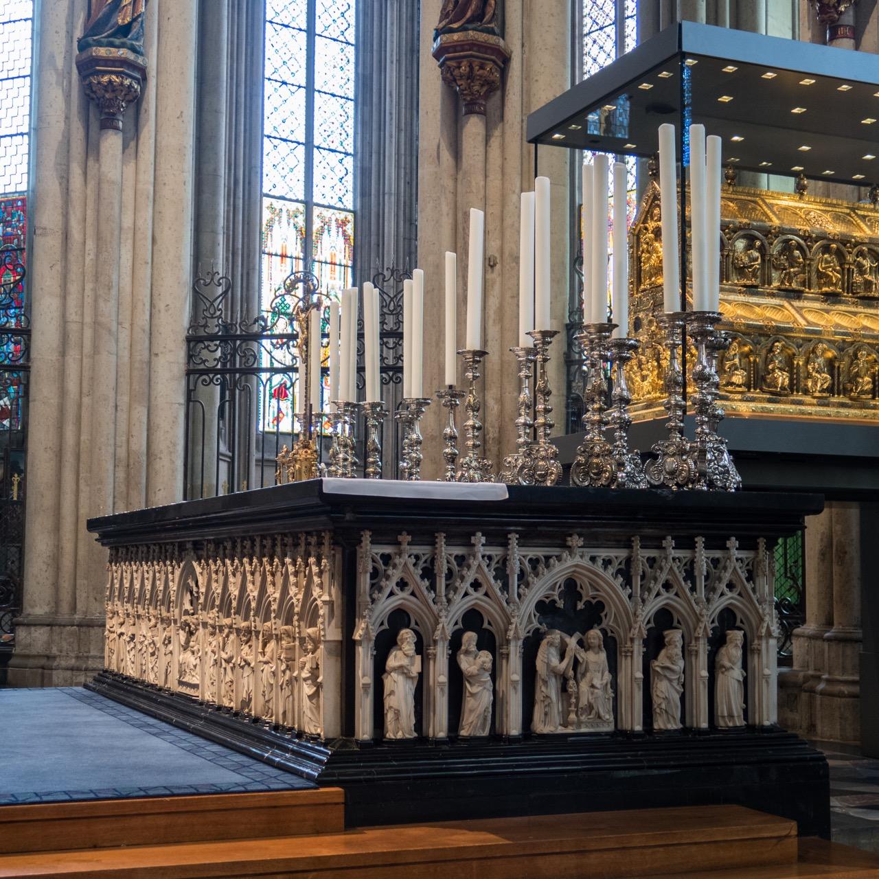 Köln, Dom, Hochaltar im Chor