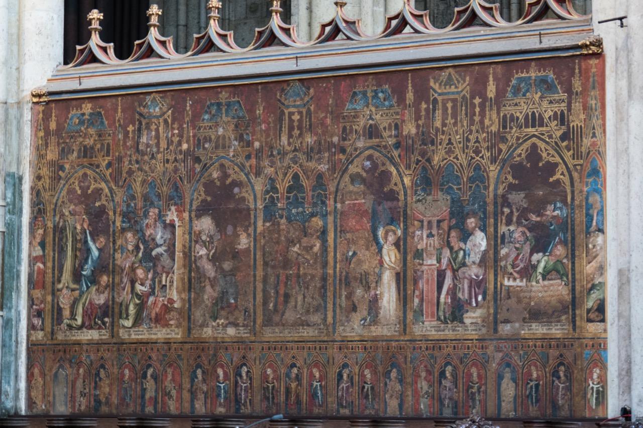 Köln, Dom, Chorschrankenmalereien