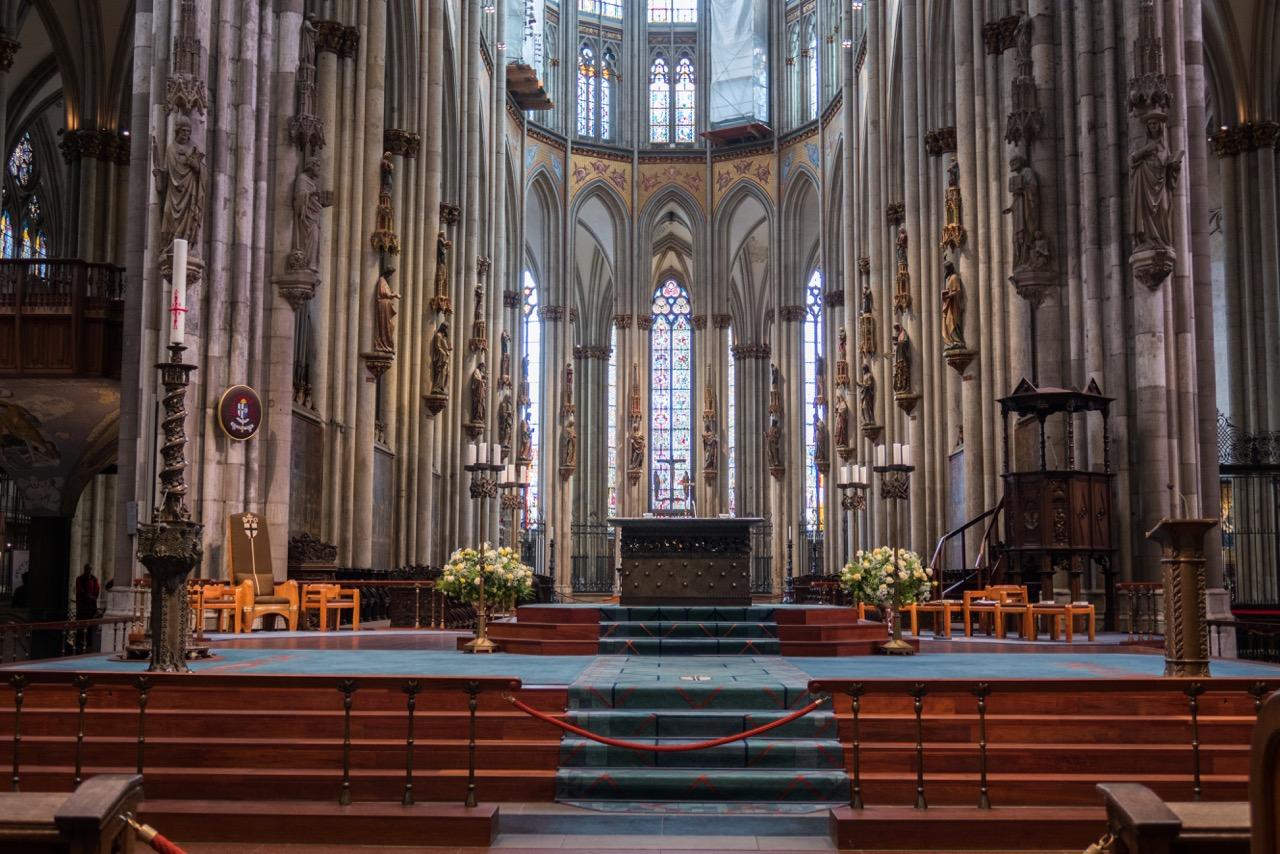 Köln, Dom, Altar in der Vierung