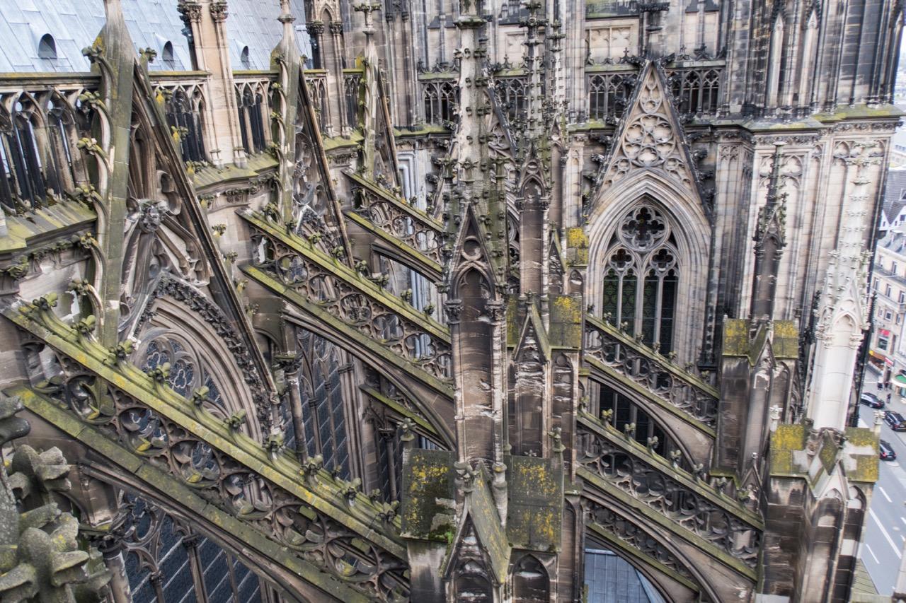 Köln, Dom, Strebewerk